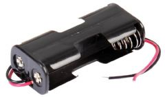 PRO POWER PP002058  Battery Holder, 2X Aa, Wired